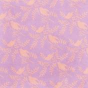 Cherish Birds Lavender Paper