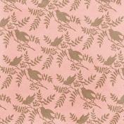 Cherish Birds Peach Paper