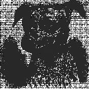 Furry Cuddles Dog Stamp