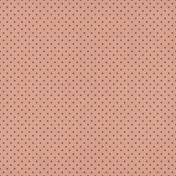 Furry Cuddles Pink Polka Dots Paper