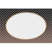 "Furry Cuddles Polka Dots Journal Card 4""x6"""
