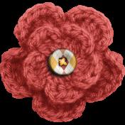 Furry Cuddles Crochet Flower