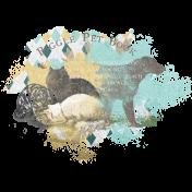 Furry Cuddles Paint Transfer 3