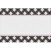 Bohemian Sunshine Scallop 4x6 Journal Card