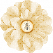 Heard The Buzz? Cream Flower