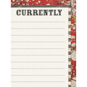 Heard the Buzz? Currently Journal Card 3x4