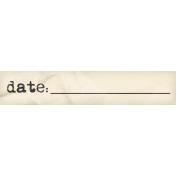 Heard The Buzz? Date Word Art