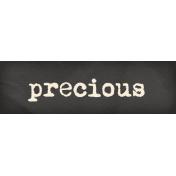 Heard The Buzz? Precious Word Art