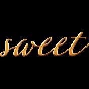 Heard The Buzz? Sweet Word Art
