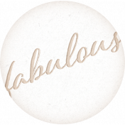 Shop 'Til You Drop Fabulous Label