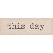 Shop 'Til You Drop This Day Word Art