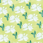 Swim With The Fishes Lilies Paper