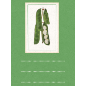 Veggie Table Beans Journal card 3x4