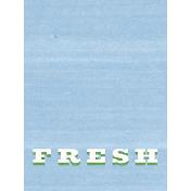 Veggie Table Fresh Journal card 3x4
