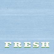 Veggie Table Fresh Journal card 4x4