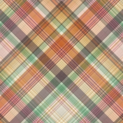 Fall Flurry Plaid Paper 01