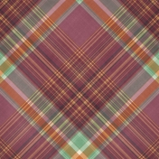 Fall Flurry Plaid Paper 06