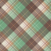 Fall Flurry Plaid Paper 07