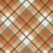 Fall Flurry Plaid Paper 08