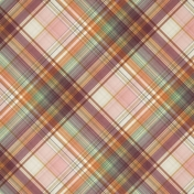 Fall Flurry Plaid Paper 09