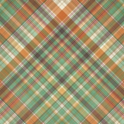 Fall Flurry Plaid Paper 11
