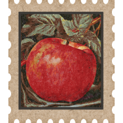 Mulled Cider Apple Postage Stamp