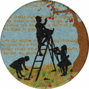 Mulled Cider Apple Pickin' Sticker