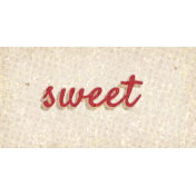 Mulled Cider Sweet Word Art