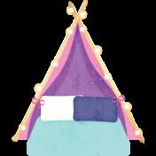 Pajama Party- Girls Tent