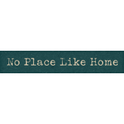 Hometown Hometown Word Art No Place Like Home