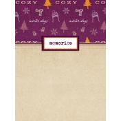 Apricity Memories 3x4 Journal Card