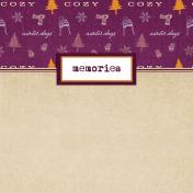 Apricity Memories 4x4 Journal Card