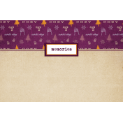 Apricity Memories 4x6 Journal Card