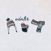 Apricity Winter 4x4 Journal Card