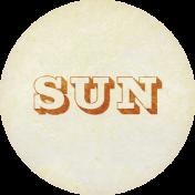 Apricity Label Sun
