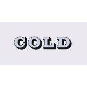 Apricity Print: Cold Word Art Snippet