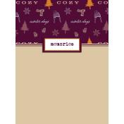 Apricity Memories 3x4 Journal Card 2