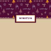 Apricity Memories 4x4 Journal Card 2