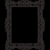Healthy Measures Black Frame Stamp