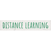 Healthy Measures Distance Learning Word Art