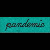Healthy Measures Pandemic Word Art