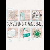 Healthy Measures Surviving a Pandemic Journal Card 3x4