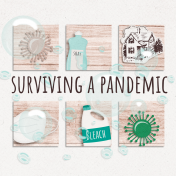 Healthy Measures Surviving a Pandemic Journal Card 4x4