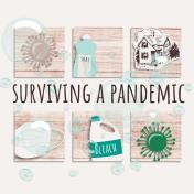 Healthy Measures Print: Surviving a Pandemic Journal Card 4x4