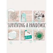 Healthy Measures Print: Surviving a Pandemic Journal Card 3x4