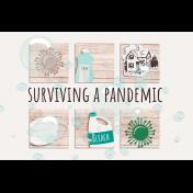 Healthy Measures Print: Surviving a Pandemic Journal Card 4x6