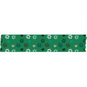 Healthy Measures Print Element Washi Tape Flowers