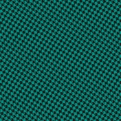 Healthy Measures Teal Houndstooth Paper