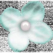 Better Together Light Blue Flower