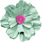 Better Together Light Green Flower